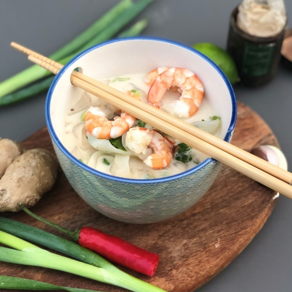 Thaise garnalen soep Tom Kha Kung KPNI Foodie